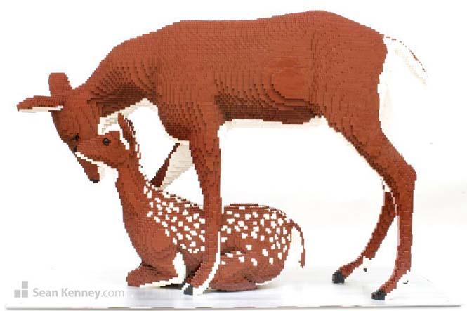 Ζώα από Lego (5)