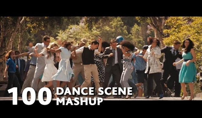 100 χορευτικά από διάσημες ταινίες σε ένα απίθανο mashup