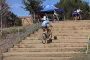 Ανεβαίνοντας μια σκάλα με ποδήλατο