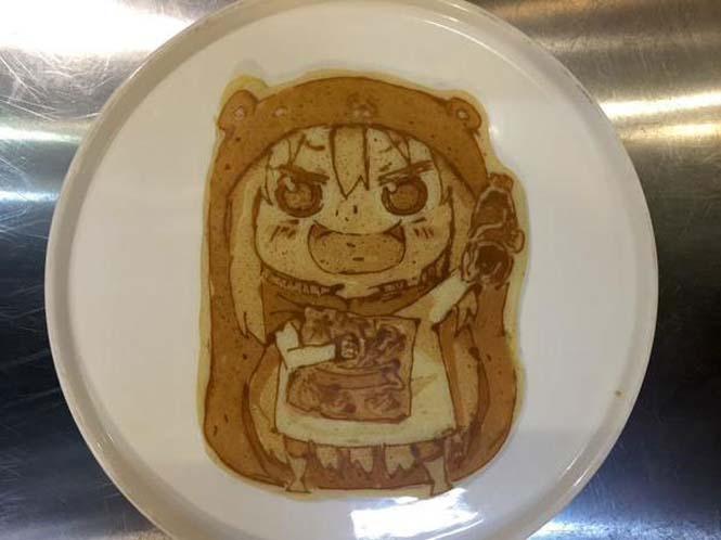 Εστιατόριο στην Ιαπωνία κάνει απίστευτη τέχνη με τηγανίτες (2)