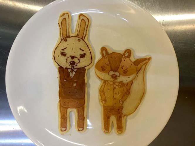 Εστιατόριο στην Ιαπωνία κάνει απίστευτη τέχνη με τηγανίτες (5)