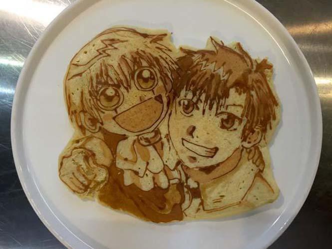 Εστιατόριο στην Ιαπωνία κάνει απίστευτη τέχνη με τηγανίτες (6)