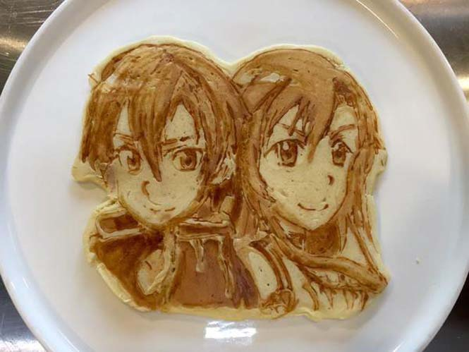 Εστιατόριο στην Ιαπωνία κάνει απίστευτη τέχνη με τηγανίτες (9)