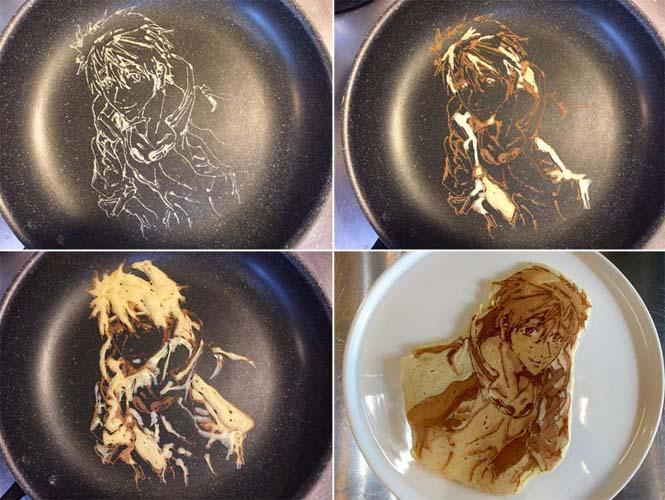 Εστιατόριο στην Ιαπωνία κάνει απίστευτη τέχνη με τηγανίτες (10)