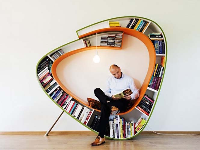 Δημιουργικοί τρόποι για την οργάνωση βιβλίων (15)
