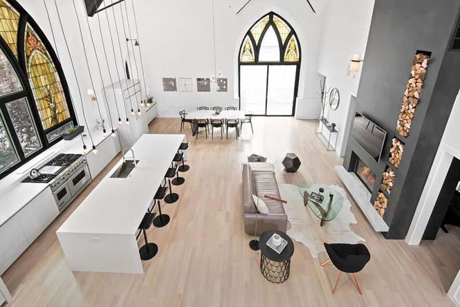 Εντυπωσιακό σπίτι στο Σικάγο ήταν κάποτε εκκλησία (2)