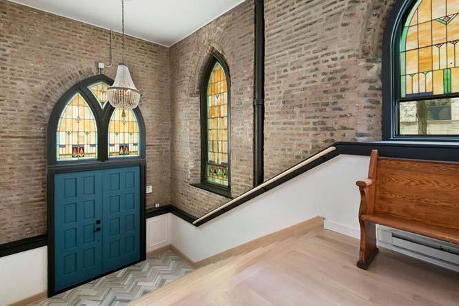 Εντυπωσιακό σπίτι στο Σικάγο ήταν κάποτε εκκλησία (10)