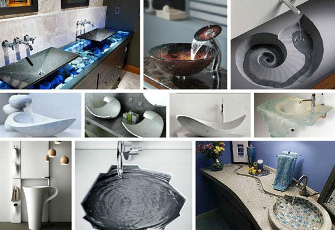 Εντυπωσιακοί και ασυνήθιστοι νιπτήρες μπάνιου (1)