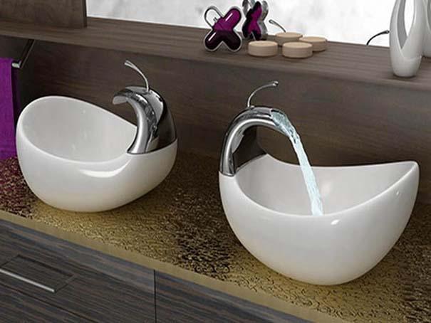 Εντυπωσιακοί και ασυνήθιστοι νιπτήρες μπάνιου (41)