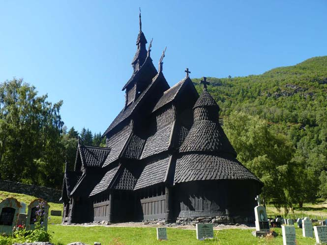 Εντυπωσιακός ναός στο Borgund της Νορβηγίας (3)