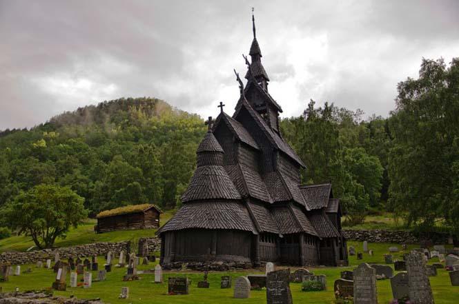 Εντυπωσιακός ναός στο Borgund της Νορβηγίας (4)