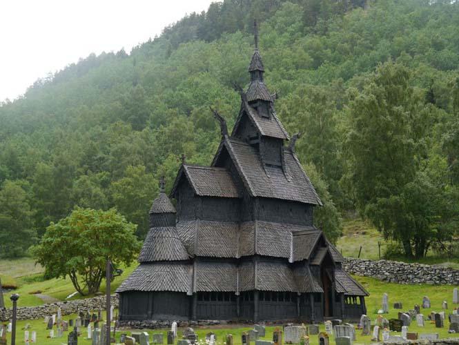 Εντυπωσιακός ναός στο Borgund της Νορβηγίας (5)