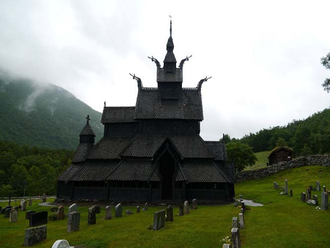 Εντυπωσιακός ναός στο Borgund της Νορβηγίας (6)