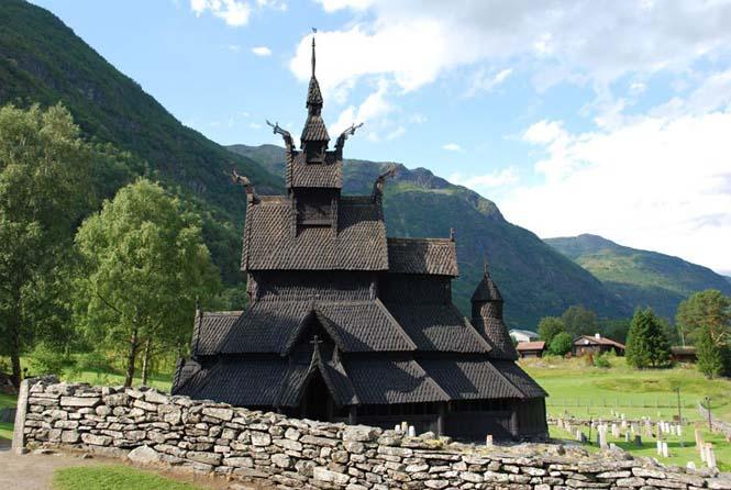 Εντυπωσιακός ναός στο Borgund της Νορβηγίας (7)