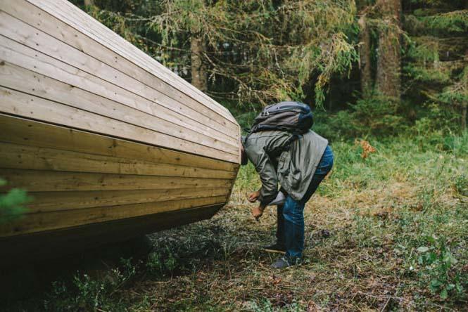 Φοιτητές κατασκεύασαν τεράστια ξύλινα μεγάφωνα σε δάσος της Εσθονίας - Δείτε γιατί (4)