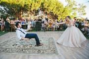 Γαμήλιος χορός με μαγικό τρικ