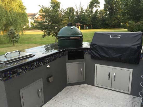 Κατασκευάζοντας μια εντυπωσιακή υπαίθρια κουζίνα (36)