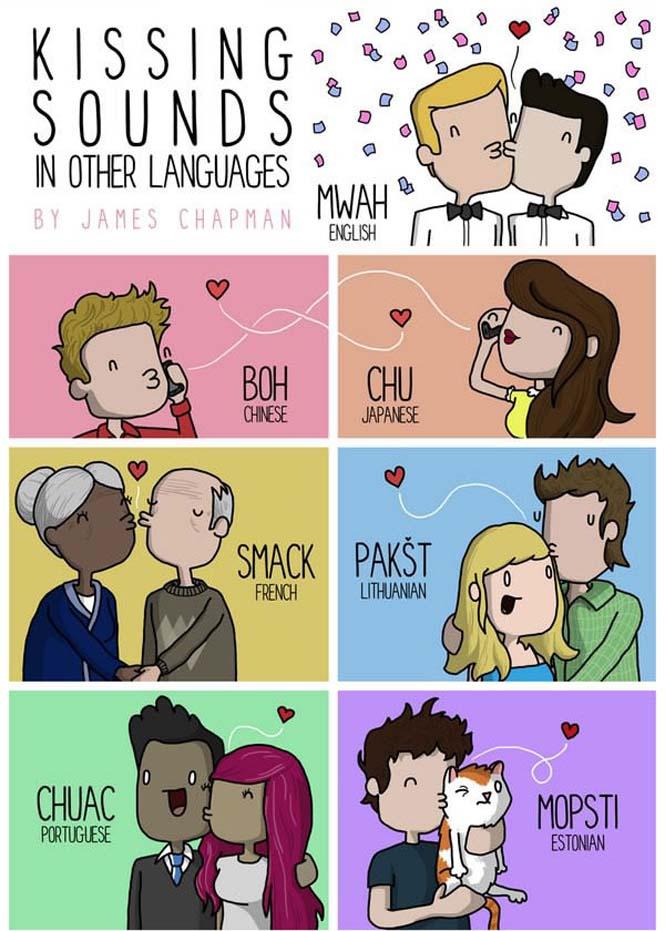 Καθημερινοί ήχοι σε διάφορες γλώσσες (2)