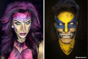 Makeup artist μεταμορφώνει τον εαυτό του σε απίθανους χαρακτήρες (11)