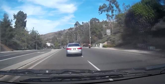 Μια γυναίκα οδηγούσε φυσιολογικά, όταν ξαφνικά...