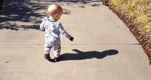 Μωρά που φοβούνται την σκιά τους (Video)