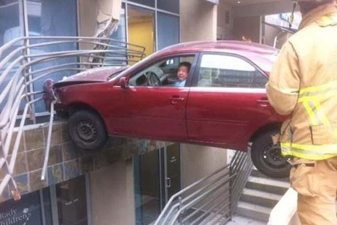 Οχήματα σε απίθανα Fails (1)
