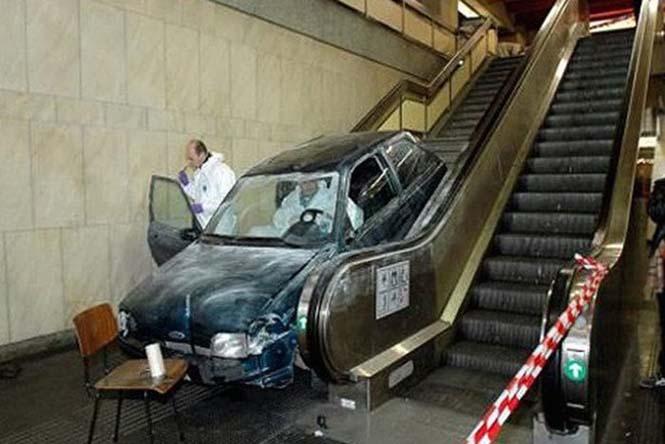 Οχήματα σε απίθανα Fails (3)