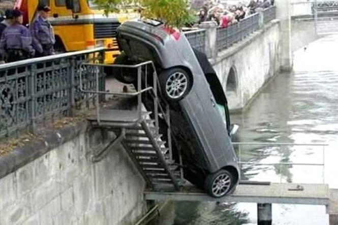 Οχήματα σε απίθανα Fails (4)