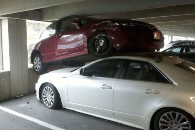 Οχήματα σε απίθανα Fails (5)