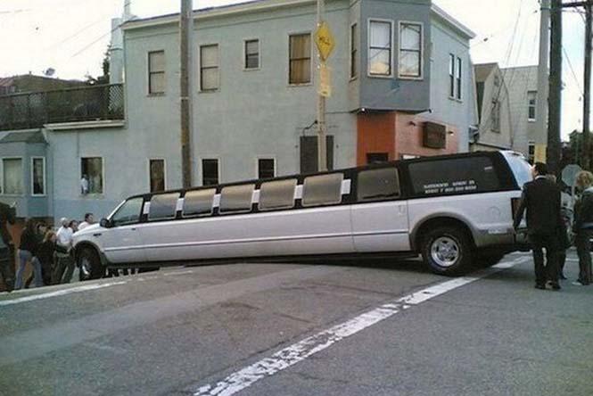 Οχήματα σε απίθανα Fails (8)