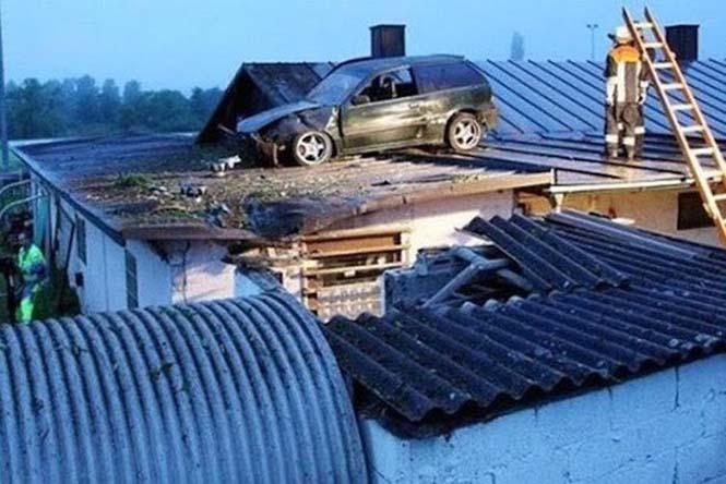 Οχήματα σε απίθανα Fails (11)