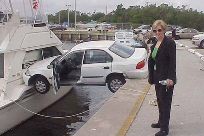Οχήματα σε απίθανα Fails (13)
