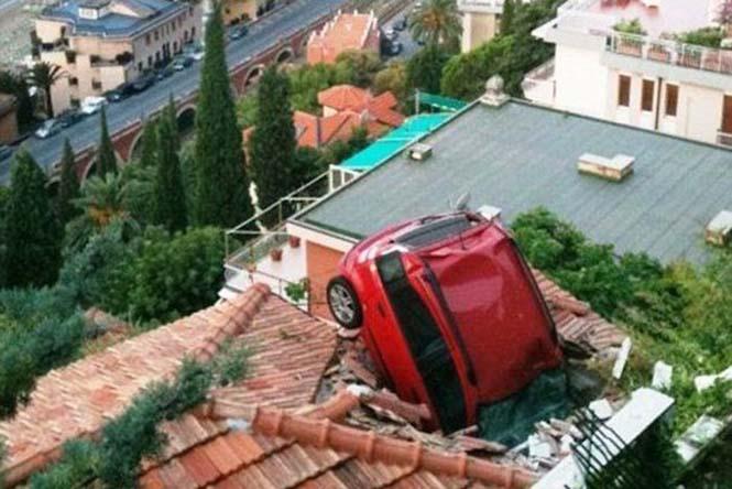Οχήματα σε απίθανα Fails (14)