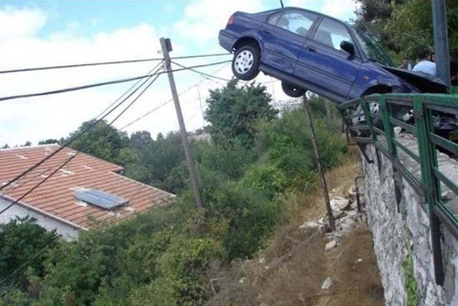 Οχήματα σε απίθανα Fails (19)