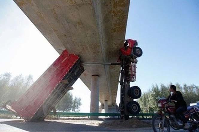 Οχήματα σε απίθανα Fails (20)