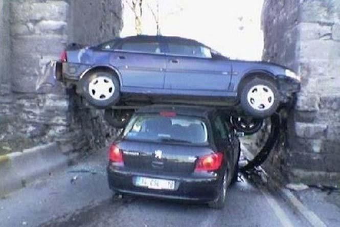 Οχήματα σε απίθανα Fails (21)