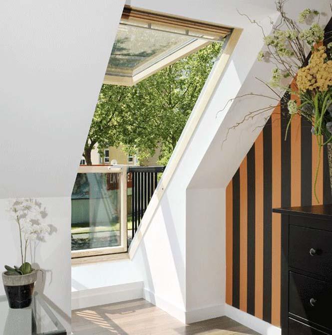 Παράθυρο σοφίτας που μετατρέπεται σε μικρό μπαλκόνι (5)