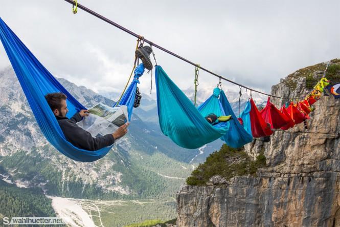 Camping στον αέρα | Φωτογραφία της ημέρας