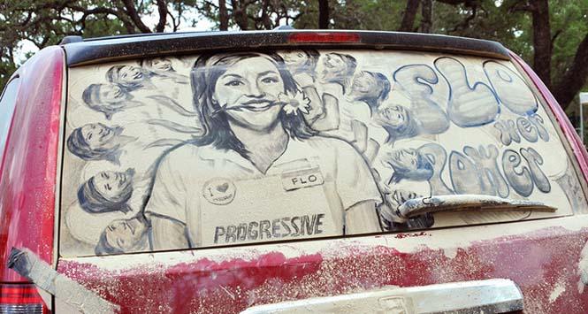 Εκεί που βλέπεις ένα σκονισμένο αυτοκίνητο, αυτός ο καλλιτέχνης βλέπει έναν κενό καμβά (12)