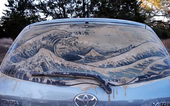 Εκεί που βλέπεις ένα σκονισμένο αυτοκίνητο, αυτός ο καλλιτέχνης βλέπει έναν κενό καμβά (16)
