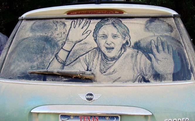Εκεί που βλέπεις ένα σκονισμένο αυτοκίνητο, αυτός ο καλλιτέχνης βλέπει έναν κενό καμβά (18)