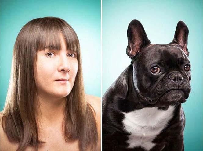 Σκύλοι και ιδιοκτήτες στην ίδια πόζα (2)