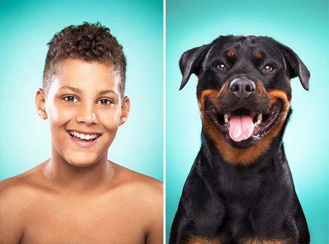 Σκύλοι και ιδιοκτήτες στην ίδια πόζα (7)