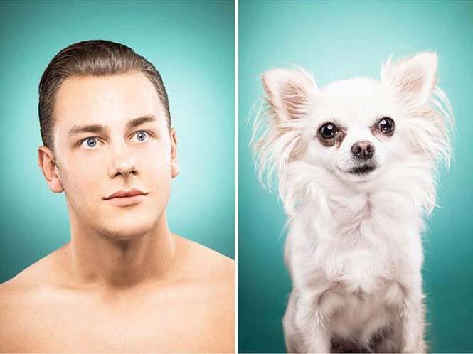 Σκύλοι και ιδιοκτήτες στην ίδια πόζα (8)