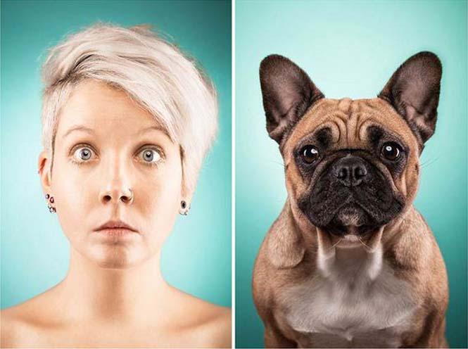 Σκύλοι και ιδιοκτήτες στην ίδια πόζα (9)