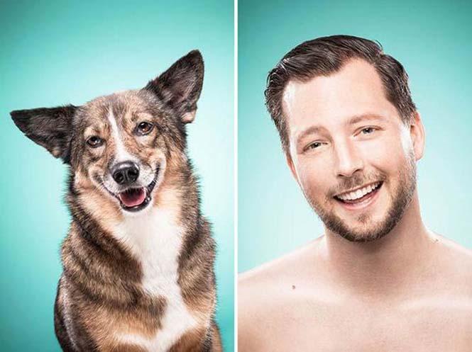 Σκύλοι και ιδιοκτήτες στην ίδια πόζα (10)