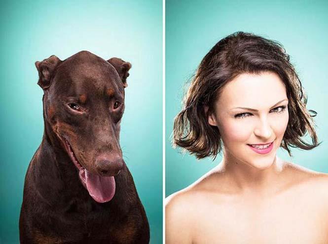Σκύλοι και ιδιοκτήτες στην ίδια πόζα (12)