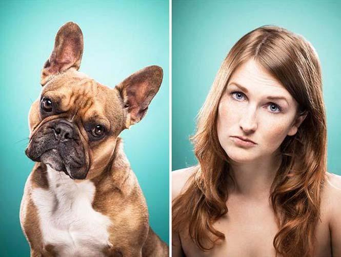 Σκύλοι και ιδιοκτήτες στην ίδια πόζα (14)