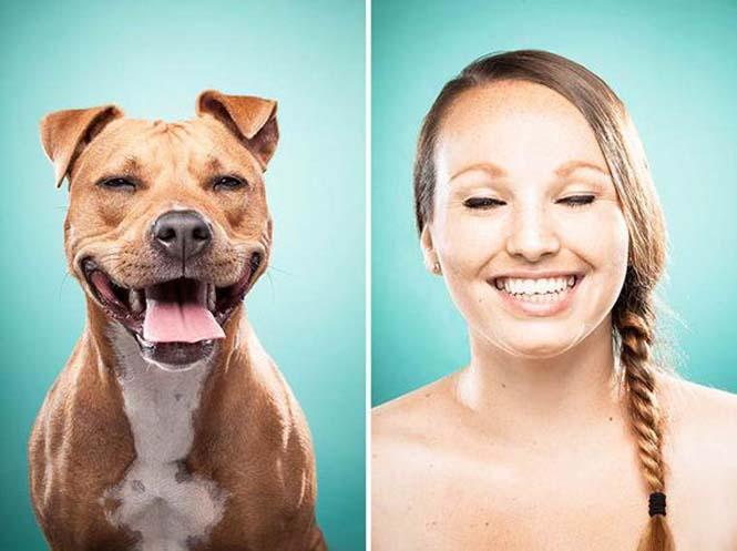 Σκύλοι και ιδιοκτήτες στην ίδια πόζα (15)