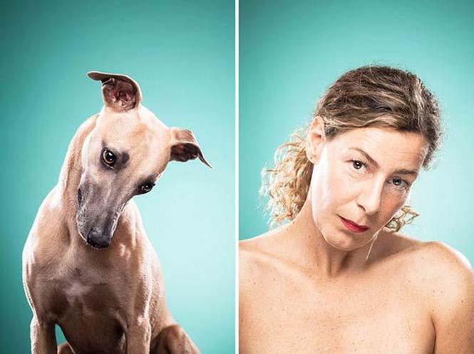 Σκύλοι και ιδιοκτήτες στην ίδια πόζα (17)